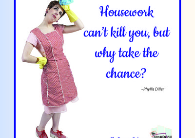 Housework Can't Kill You